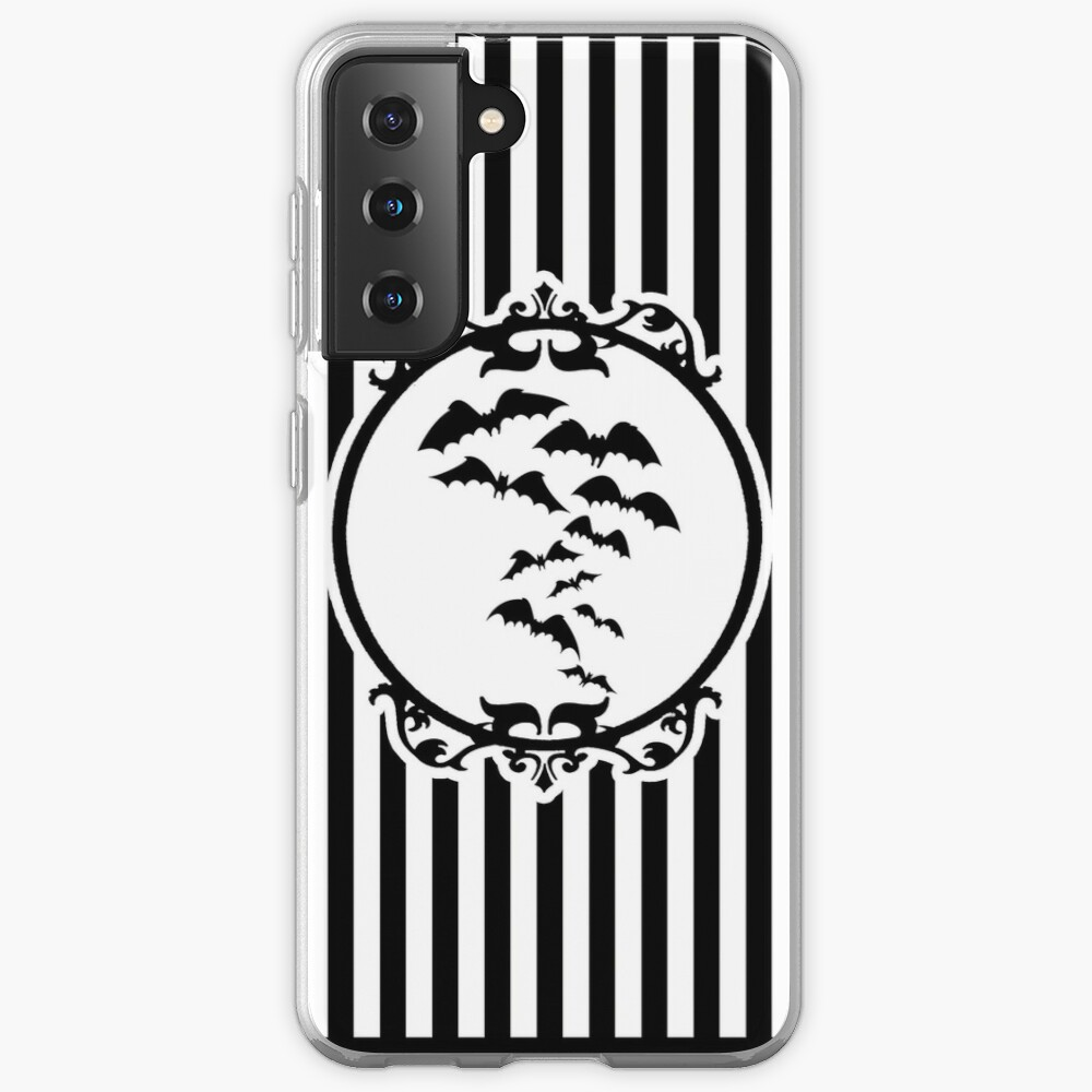 Stripes and Bats Case & Skin for Samsung Galaxy