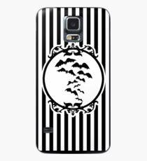 Streifen und Fledermäuse Hülle & Skin für Samsung Galaxy