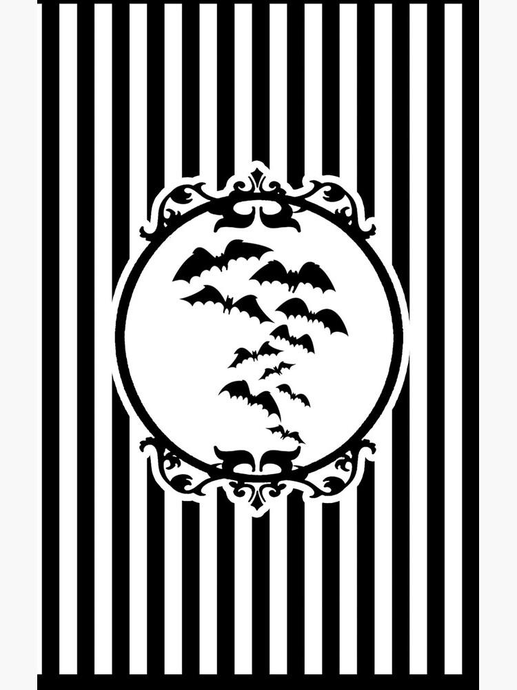 Stripes and Bats by madamebat