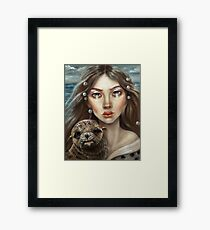 The Selkie Framed Print