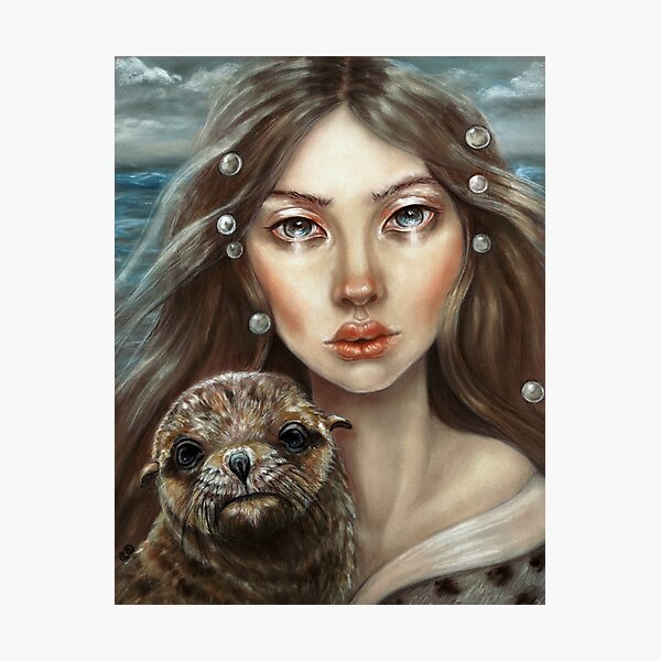 The Selkie Photographic Print