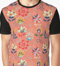 Wild Flowers Graphic T-Shirt
