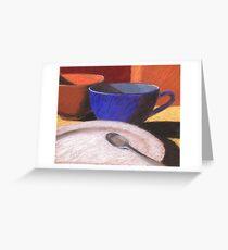 coffee friends Greeting Card