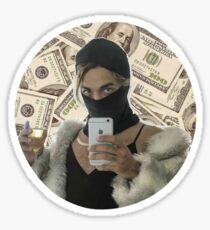 Joanne The Scammer - Money Sticker