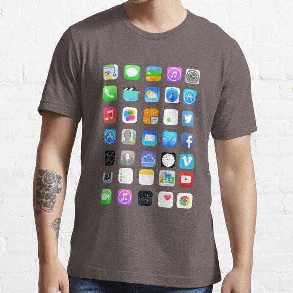 Apple Icons Essential T-Shirt