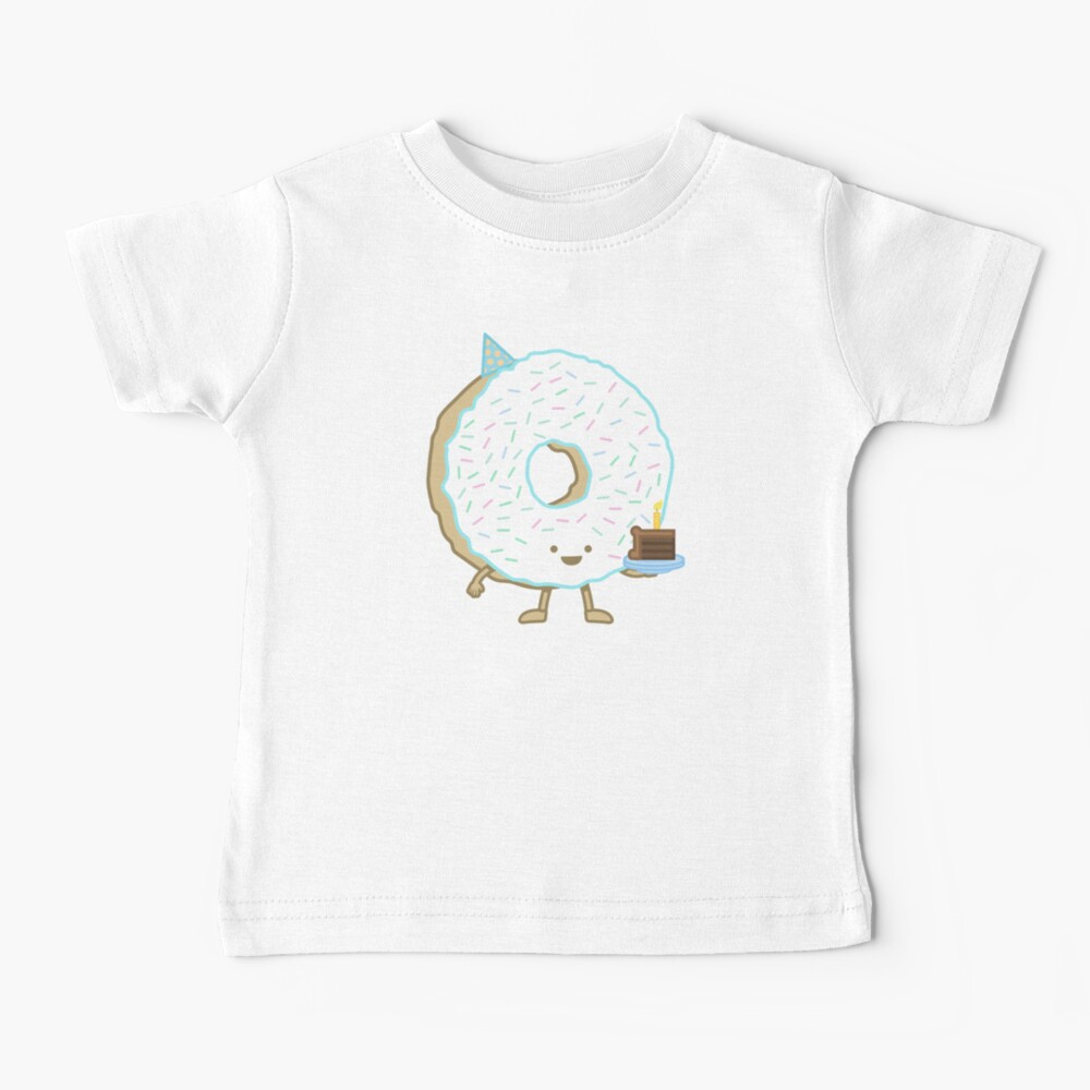 The Birthday Party Donut Baby T-Shirt