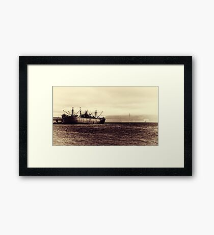 Old San Francisco Framed Print