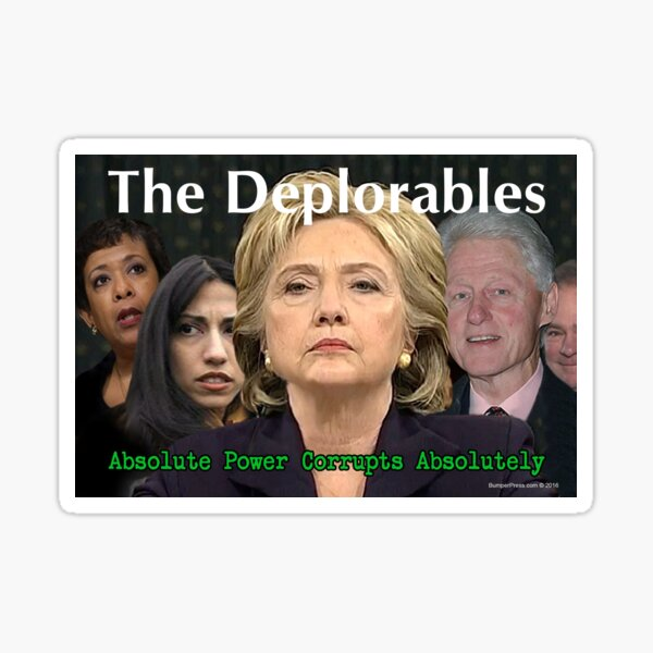The Deplorables Sticker