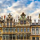 Grand Place Facades by FelipeLodi