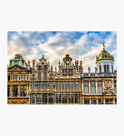 Grand Place Facades Photographic Print