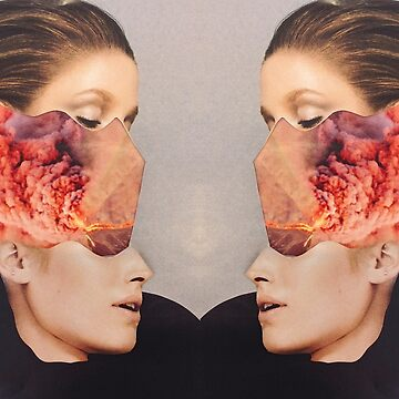 2 Faced. Explosion. Collage ® by creative-bubble