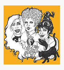 Hocus Pocus Witches-LIMITED TIME ONLY Photographic Print