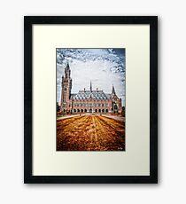 Peace Palace Framed Print