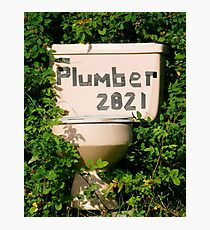 Plumber Photographic Print
