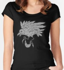 Sassy Raven-LIMITED TIME ONLY Women's Fitted Scoop T-Shirt