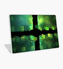 Lime Cubes Laptop Skin