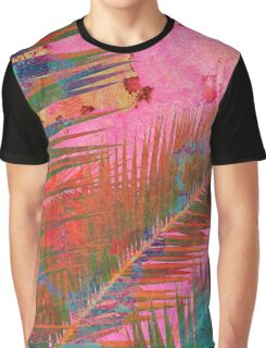 Palm leaves for Frida Graphic T-Shirt