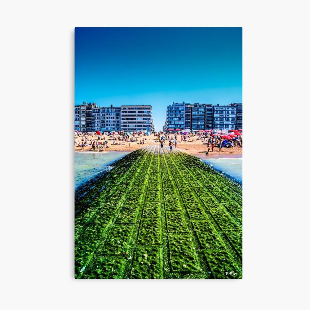 Beach Promenade Canvas Print