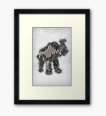 AM Elephant Framed Print