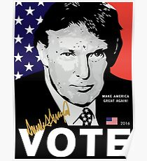 Donald J. Trump 'VOTE' Poster 2016 [HD] Poster