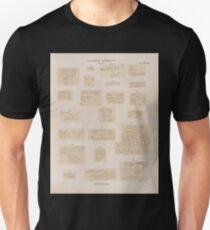 0710 Sinaitische Inschriften No 71 92 Wadi Mokatteb Gruppe A Unisex T-Shirt