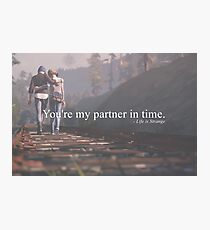 Partner in time Photographic Print