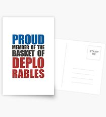 Proud The Member of Deplorables Postcards