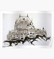 Fairmont Chateau Frontenac, Canada Poster