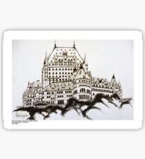 Fairmont Chateau Frontenac, Canada Sticker
