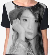 YOONA-I GOT A BOY Women's Chiffon Top