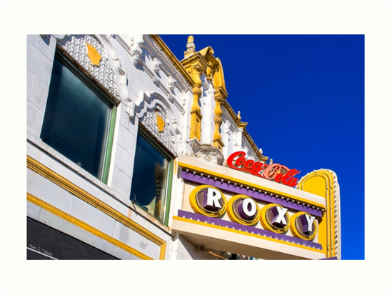 Roxy Theater - Old Atlanta Landmark by Mark Tisdale