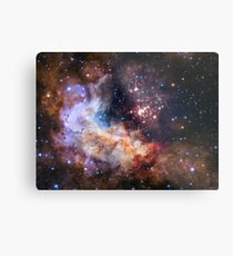 Hubble Space Image Metal Print