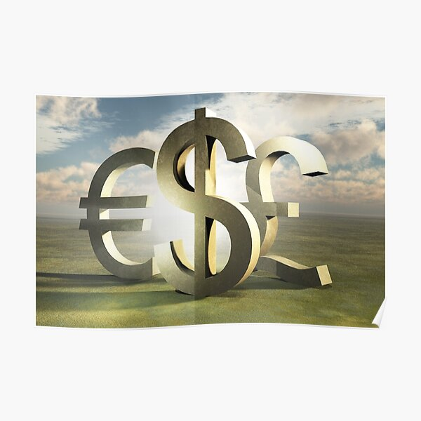 Tapping Into the Energy of Currency Poster