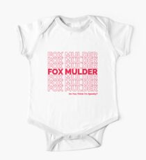 Fox Mulder One Piece - Short Sleeve