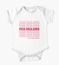 Fox Mulder One Piece - Short Sleeve