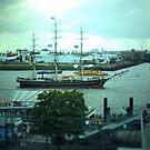 Hamburg Landungsbrücken -Tiltshift (1) by OLIVER W