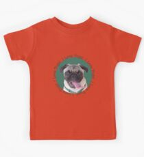 Cute I Love Pugs! T-Shirt or Hoodie Kids Tee