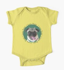 Cute I Love Pugs! T-Shirt or Hoodie One Piece - Short Sleeve