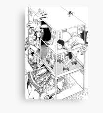 Shintaro Kago - Abstractions Metal Print
