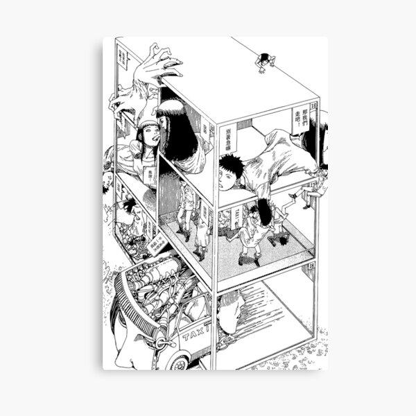 Shintaro Kago - Abstractions Canvas Print