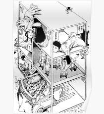 Shintaro Kago - Abstractions Poster