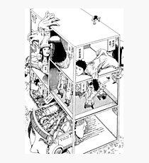 Shintaro Kago - Abstraktionen Fotodruck