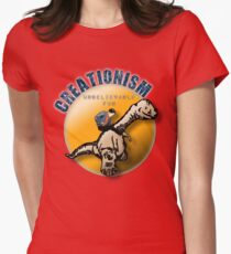 Creationism - unbelievable fun Women's Fitted T-Shirt
