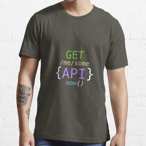 OBTENGA algunas API ahora Camiseta esencial