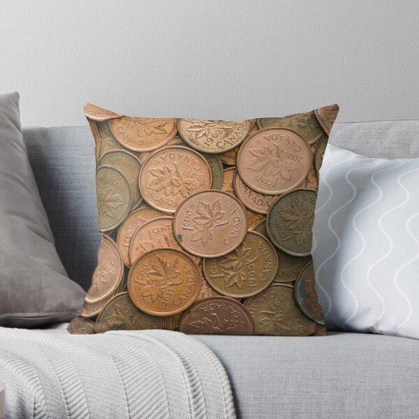 Pennyless Throw Pillow