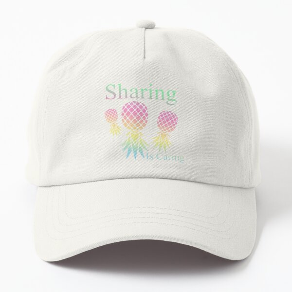 Sharing Is Caring Swingers Pastel Dad Hat