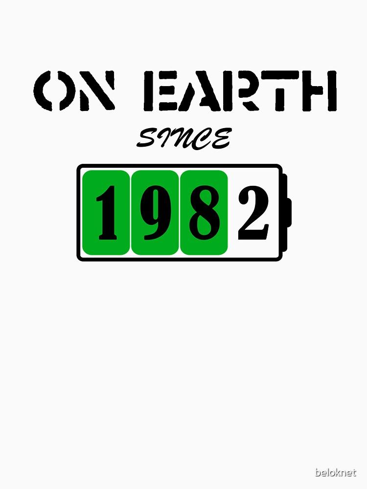 On Earth Since 1982 by beloknet