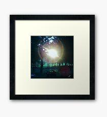 Mystery Light Framed Print