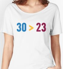 30 > 23 Women's Relaxed Fit T-Shirt