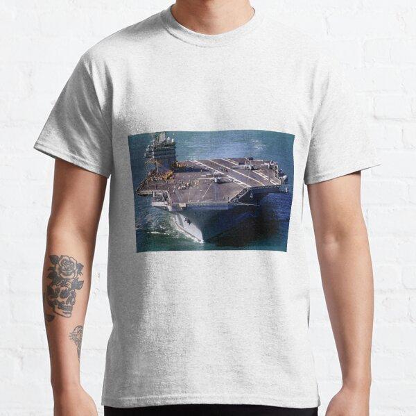 Flight Ops on the USS Carl Vinson, CVN-70 Classic T-Shirt